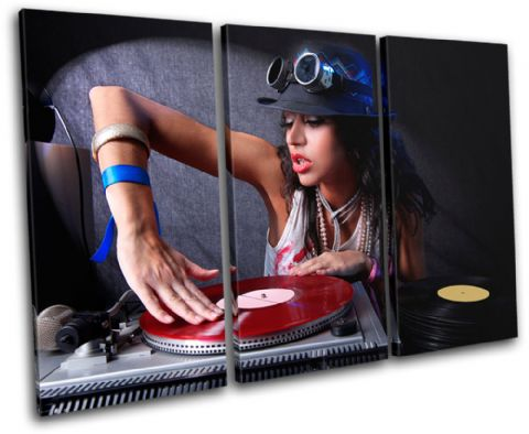 Girl Decks Turntables DJ Club - 13-1825(00B)-TR32-LO